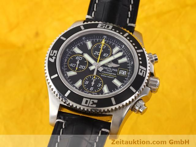 BREITLING SUPEROCEAN CHRONOGRAPH II AUTOMATIK STAHL A13341 NP: 4630,- Euro [141166]