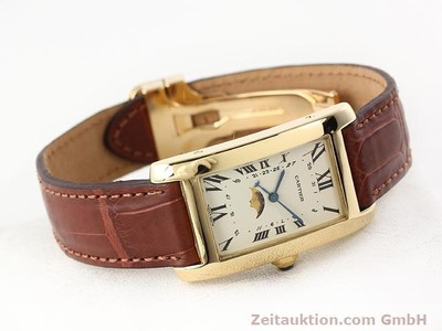 CARTIER TANK OR 18 CT QUARTZ KAL. 19 (619) [141167]