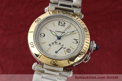 CARTIER PASHA STEEL / GOLD AUTOMATIC KAL. 050 ETA 2892A2 [141168]