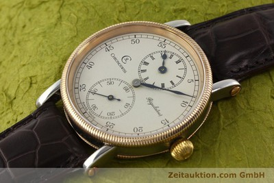 CHRONOSWISS REGULATEUR ACIER REMONTAGE MANUEL KAL. UNITAS [141175]