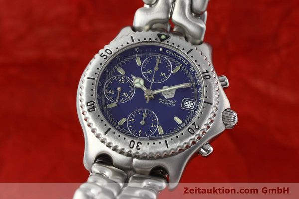 TAG HEUER LINK AUTOMATIK CHRONOGRAPH PROFESSIONAL CG2110-RO STAHL VP: 3500,- Euro [141182]