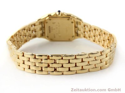 CARTIER PANTHERE 18 CT GOLD QUARTZ [141184]