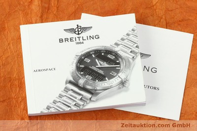 BREITLING AEROSPACE CHRONOGRAPHE TITANE / OR QUARTZ KAL. B56 [141205]