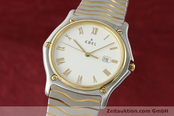 EBEL CLASSIC WAVE STEEL / GOLD QUARTZ KAL. 83 [141234]