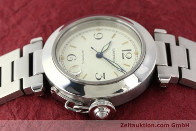 CARTIER PASHA STEEL AUTOMATIC [141241]