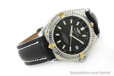 BREITLING WINGS ACIER / OR AUTOMATIQUE KAL. ETA 2892A2 [141257]