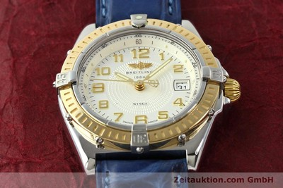 BREITLING WINGS STEEL / GOLD QUARTZ KAL. ETA 956612 [141259]