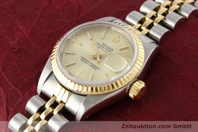 ROLEX LADY DATEJUST ACIER / OR AUTOMATIQUE KAL. 2135 [141268]