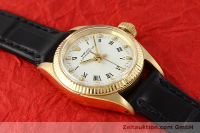 ROLEX OYSTER PERPETUAL OR 18 CT AUTOMATIQUE KAL. 1161 [141270]