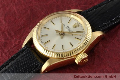 ROLEX OYSTER PERPETUAL OR 18 CT AUTOMATIQUE KAL. 2030 [141271]