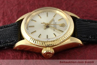 ROLEX OYSTER PERPETUAL ORO 18 CT AUTOMATISMO KAL. 2030 [141271]