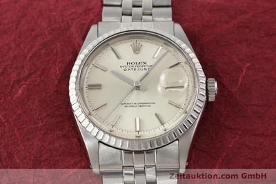 ROLEX DATEJUST STEEL AUTOMATIC KAL. 1570 [141273]