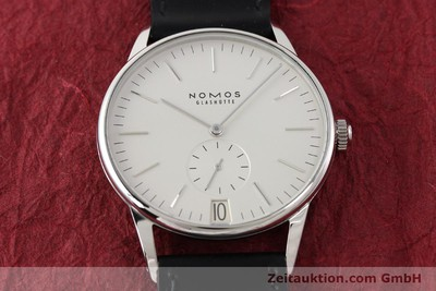NOMOS ORION STEEL MANUAL WINDING KAL. BETA 10487 [141274]