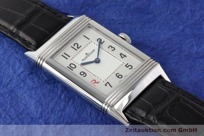 JAEGER LE COULTRE REVERSO STEEL MANUAL WINDING KAL. 822 [141278]