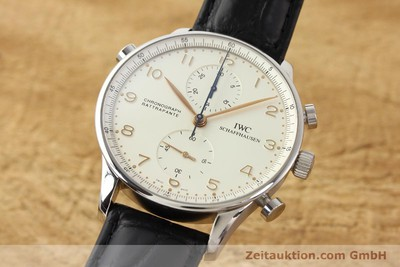 IWC PORTUGIESER STEEL MANUAL WINDING KAL. C.76240 [141283]