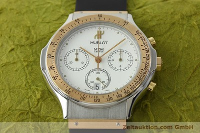 HUBLOT MDM CHRONOGRAPHE ACIER / OR QUARTZ KAL. 1270 [141298]