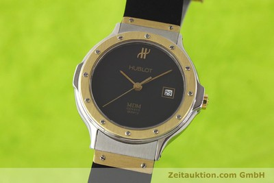 HUBLOT MDM GILT STEEL QUARTZ KAL. ETA 956112 [141299]
