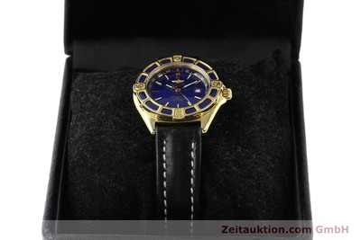 BREITLING LADY J 18 CT GOLD QUARTZ KAL. B52 ETA 256.112 [141304]