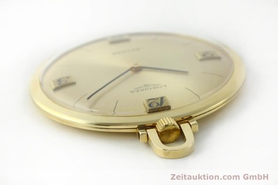 LONGINES TASCHENUHR 18 CT GOLD MANUAL WINDING KAL. RECORD 666 [141306]