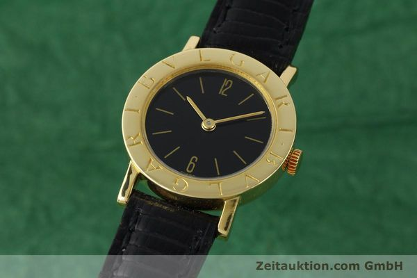 BVLGARI BVLGARI 18 CT GOLD MANUAL WINDING KAL. KALIBER 78/1 AUF BASIS ETA 2512 [141311]
