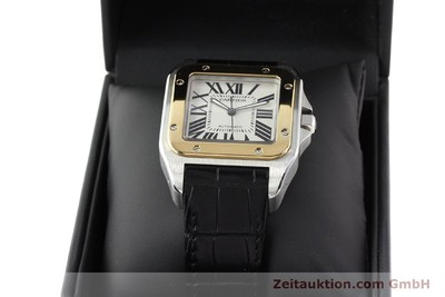 CARTIER SANTOS STEEL / GOLD AUTOMATIC KAL. 049 ETA 2892A2 [141329]
