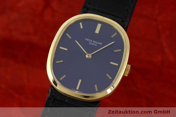 PATEK PHILIPPE ELLIPSE 18 CT GOLD MANUAL WINDING KAL. 23-300  [141331]