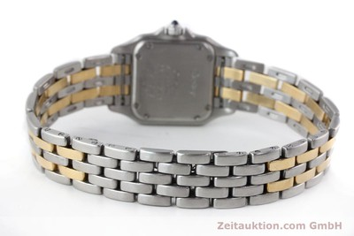 CARTIER PANTHERE ACIER / OR QUARTZ KAL. 157 [141333]