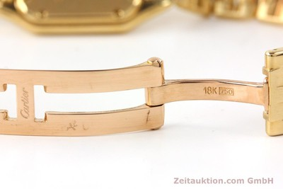 CARTIER PANTHERE 18 CT GOLD QUARTZ KAL. 057 [141334]