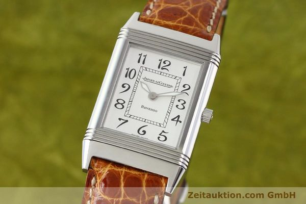 JAEGER LE COULTRE REVERSO STEEL MANUAL WINDING [141356]
