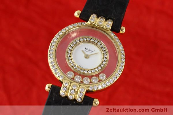 Chopard Happy Diamonds 18k Gold Quarz  [141359]