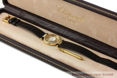 CHOPARD HAPPY DIAMONDS 18 CT GOLD QUARTZ [141359]