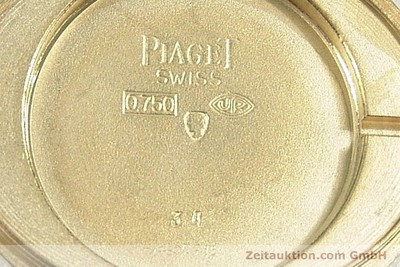 PIAGET 18 CT GOLD MANUAL WINDING KAL. 9P [141362]