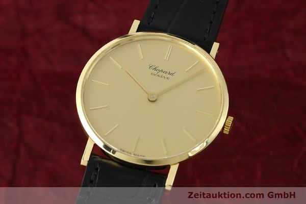 CHOPARD 18 CT GOLD MANUAL WINDING KAL. PESEUX 7001 [141366]