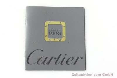 CARTIER SANTOS GILT STEEL AUTOMATIC KAL. 76 AUF BASIS ETA 2671 [141372]