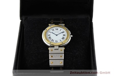 CARTIER SANTOS RONDE STEEL / GOLD QUARTZ KAL. 81 [141380]
