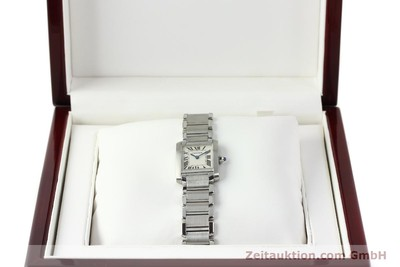 CARTIER TANK STEEL QUARTZ KAL. 057 [141385]