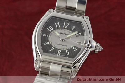 CARTIER ROADSTER STEEL AUTOMATIC KAL. 3110 ETA 2892A2 [141387]