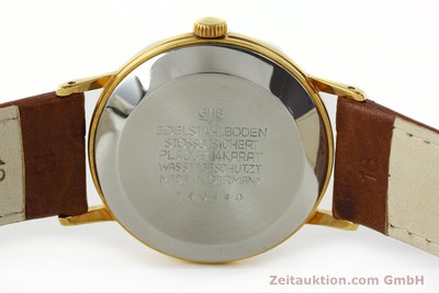 GLASHÜTTE SPEZIMATIC GOLD-PLATED AUTOMATIC KAL. 75 [141388]