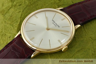 PATEK PHILIPPE CALATRAVA 18 CT GOLD MANUAL WINDING KAL. 23-300 [141400]