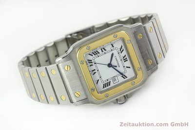 CARTIER SANTOS STEEL / GOLD AUTOMATIC [141428]