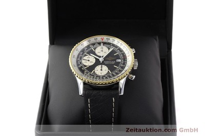 BREITLING NAVITIMER CHRONOGRAPH GILT STEEL AUTOMATIC KAL. VAL 7750 [141434]