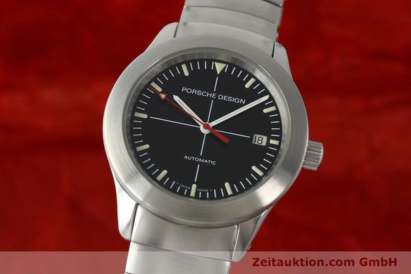 PORSCHE DESIGN BY ETERNA STEEL AUTOMATIC KAL. ETA 2824-2 [141435]