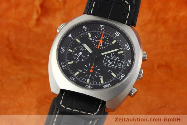 SINN D1 MISSION CHRONOGRAPH STEEL AUTOMATIC KAL. LWO 5100  [141442]