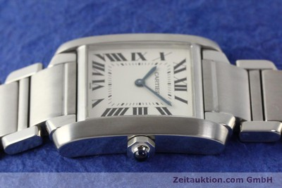 CARTIER TANK STEEL QUARTZ KAL. 157 [141451]