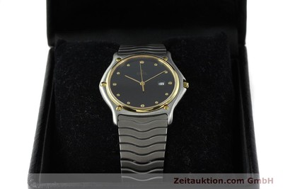 EBEL CLASSIC WAVE GILT STEEL QUARTZ [141452]