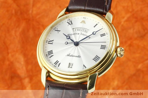 MAURICE LACROIX GOLD-PLATED AUTOMATIC KAL. ETA 2836-2 [141454]