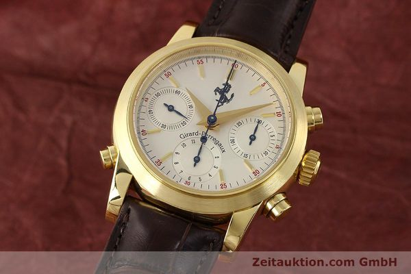 GIRARD PERREGAUX FERRARI CHRONOGRAPHE OR 18 CT AUTOMATIQUE KAL. 8290 [141461]