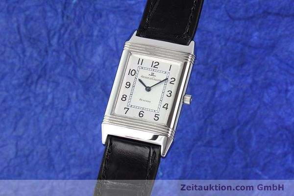 JAEGER LE COULTRE REVERSO STEEL MANUAL WINDING KAL. 846/1 [141463]