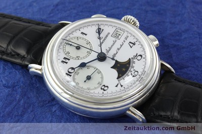 CHRONOSWISS A. ROCHAT CHRONOGRAPH SILVER AUTOMATIC KAL. VAL 7758 [141466]