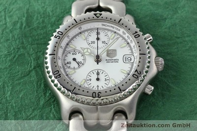 TAG HEUER LINK CHRONOGRAPH STEEL AUTOMATIC KAL. 1.95 VAL 7750 [141467]